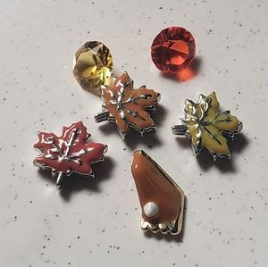 Origami Owl Fall themed Charms